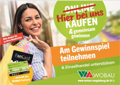 Magdeburger Geschäfte unterstützen und Einkaufsgutscheine gewinnen!