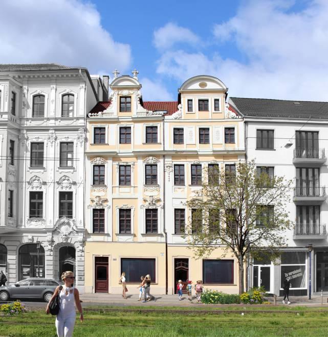 Breiter Weg // Gebäudeansicht
