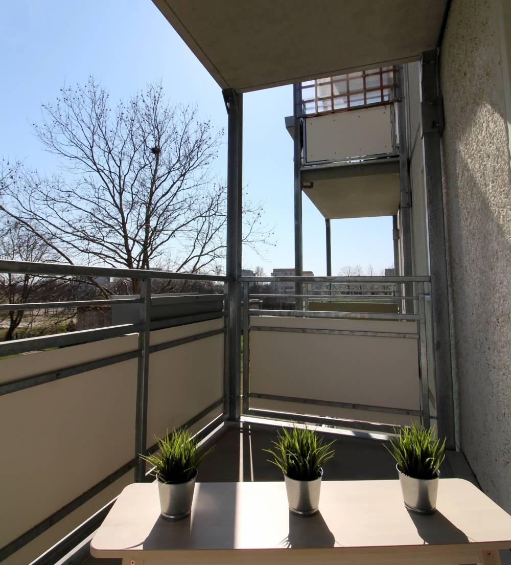 Bruno-Beye-Ring // Balkon
