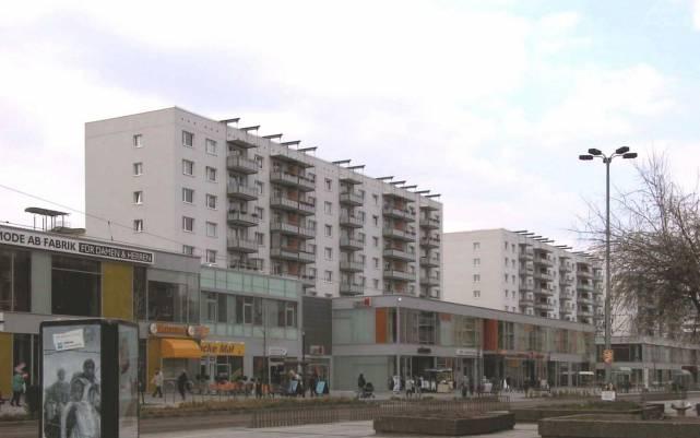 Breiter Weg // Breiter Weg Nordabschnitt Sicht auf 121-115