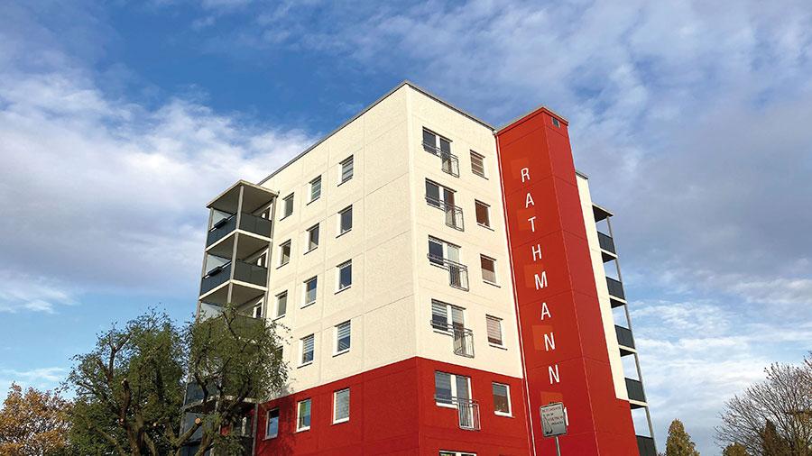 Wohnblock Rathmannstraße