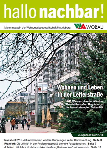 Winterausgabe Hallo Nachbar 2014