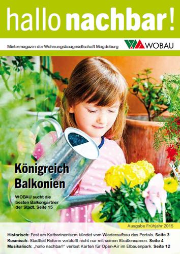 Frühlingsausgabe Hallo Nachbar 2015