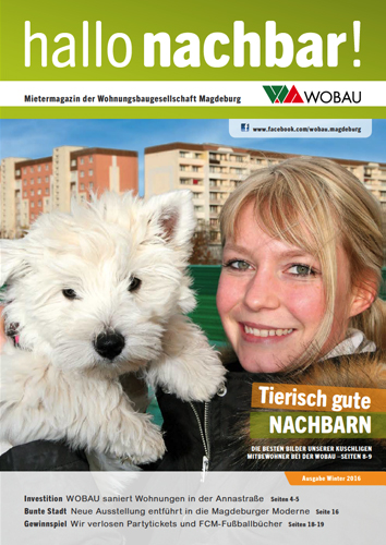 Winterausgabe Hallo Nachbar 2016