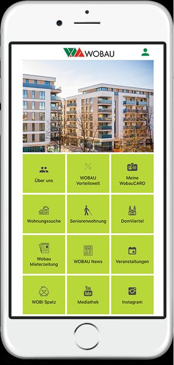 WOBAU App installieren