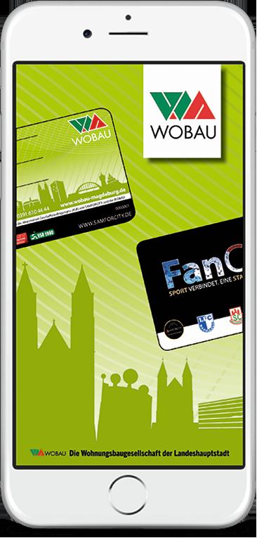 WOBAU FanCard in der App aktivieren